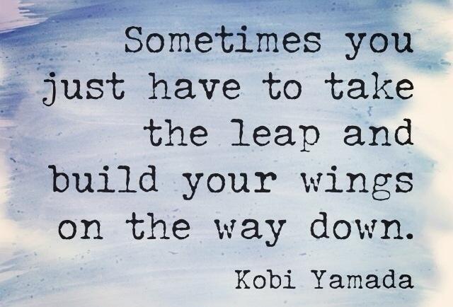 taking risks